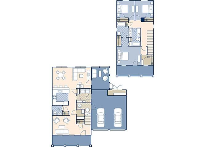 Bennett Shores East 1914 Floor Plan 2